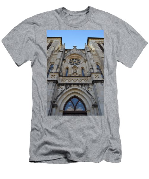 San Antonio Church 02 Men's T-Shirt (Athletic Fit)