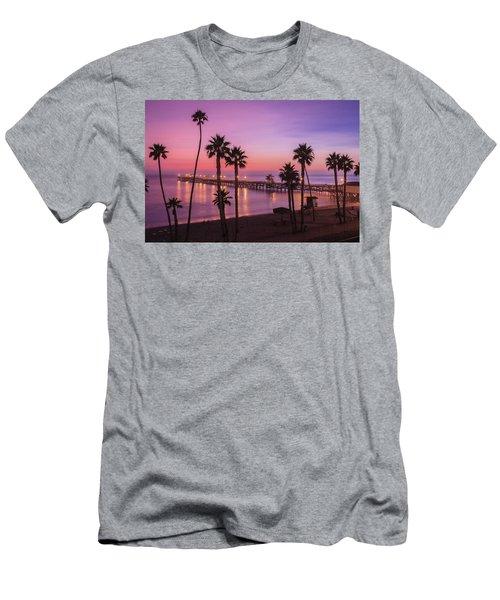 San Clemente Sunset Meditation Men's T-Shirt (Athletic Fit)