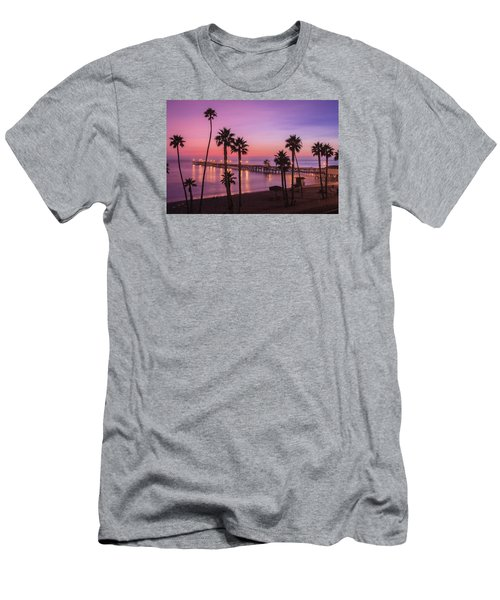 San Clemente Sunset Meditation Men's T-Shirt (Athletic Fit)