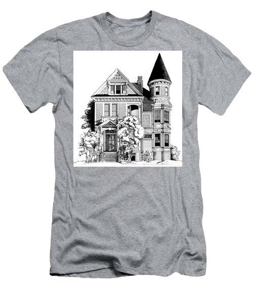 San Francisco Victorian Men's T-Shirt (Athletic Fit)