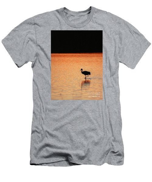 Sandhill Crane Men's T-Shirt (Athletic Fit)