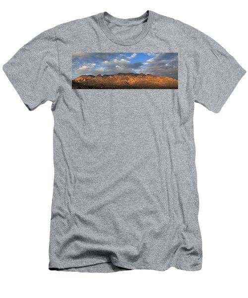 Sandia Crest At Sunset Men's T-Shirt (Athletic Fit)