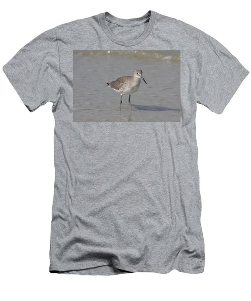Men's T-Shirt (Slim Fit) featuring the photograph Sandpiper by Christiane Schulze Art And Photography
