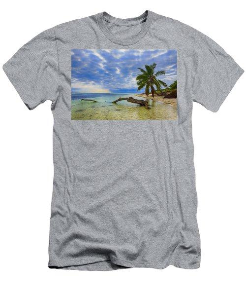 Sandspur Beach Men's T-Shirt (Athletic Fit)
