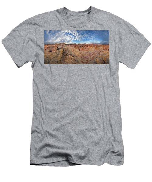 360 View Of Vermillion Cliffs  Men's T-Shirt (Athletic Fit)