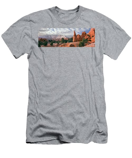 Sandstone Rock Formations, Kodachrome Men's T-Shirt (Athletic Fit)