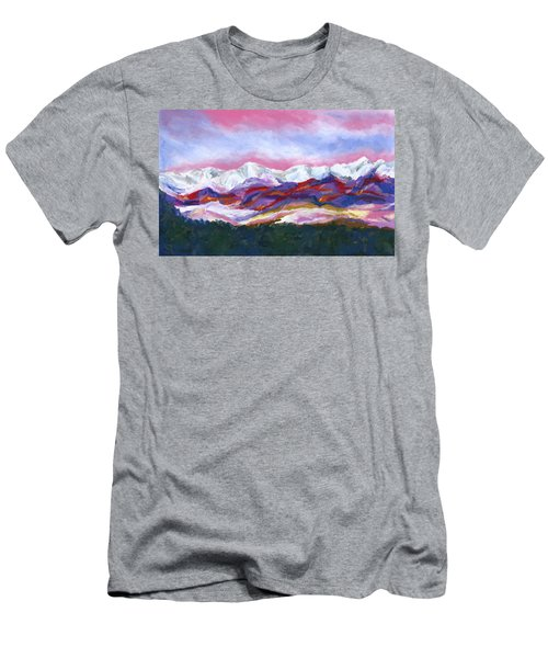 Sangre De Cristo Mountains Men's T-Shirt (Slim Fit) by Stephen Anderson