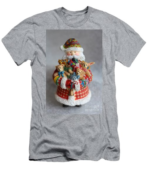 Santa Claus Men's T-Shirt (Slim Fit)