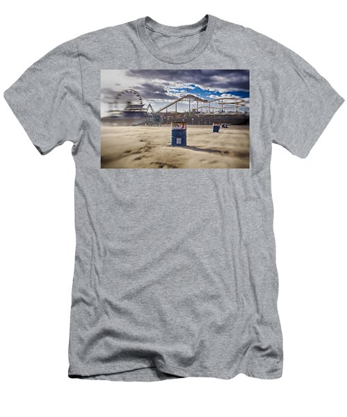 End Times At Santa Monica Pier Men's T-Shirt (Athletic Fit)