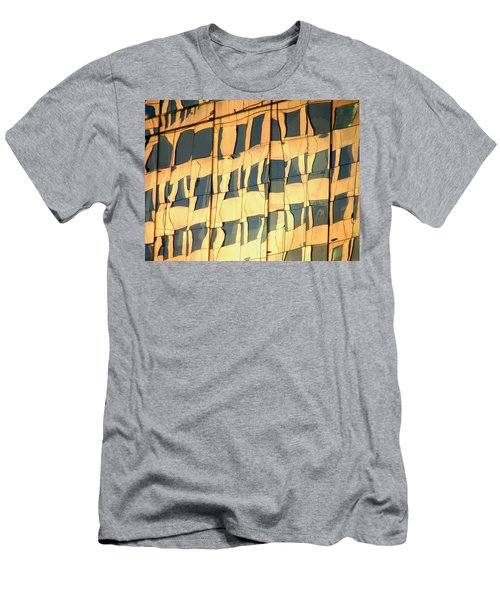 Men's T-Shirt (Athletic Fit) featuring the photograph Santiago Reflection II by Rick Locke