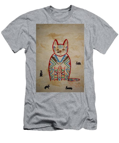 Sarah's Cat Men's T-Shirt (Athletic Fit)