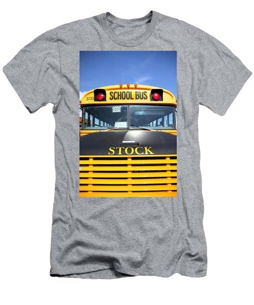 School Bus Men's T-Shirt (Athletic Fit)