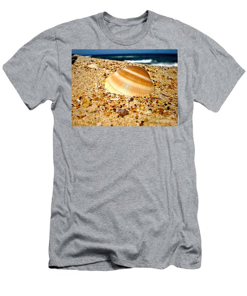 Sea Beyond The Shell Men's T-Shirt (Athletic Fit)
