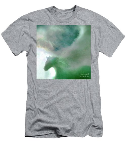 Men's T-Shirt (Slim Fit) featuring the photograph Sea Glass Storm by Michael Rock