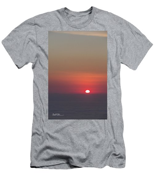 Sea Of Clouds Sunset Men's T-Shirt (Athletic Fit)