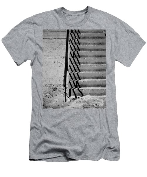 Sea Wall Steps Men's T-Shirt (Athletic Fit)