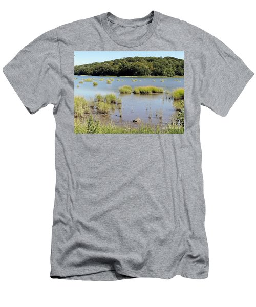 Men's T-Shirt (Slim Fit) featuring the photograph Seagrass by Ed Weidman
