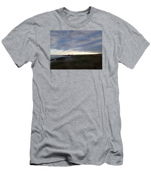 Seascape Men's T-Shirt (Slim Fit) by Robert Nickologianis