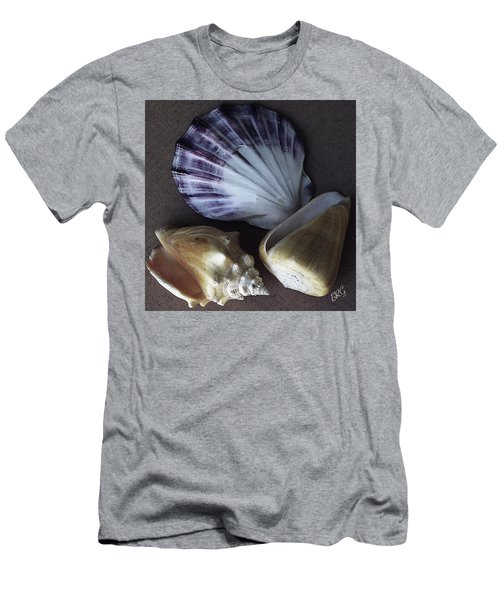 Men's T-Shirt (Athletic Fit) featuring the photograph Seashells Spectacular No 30 by Ben and Raisa Gertsberg