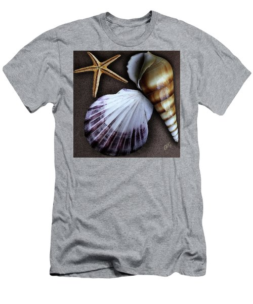 Men's T-Shirt (Athletic Fit) featuring the photograph Seashells Spectacular No 37 by Ben and Raisa Gertsberg