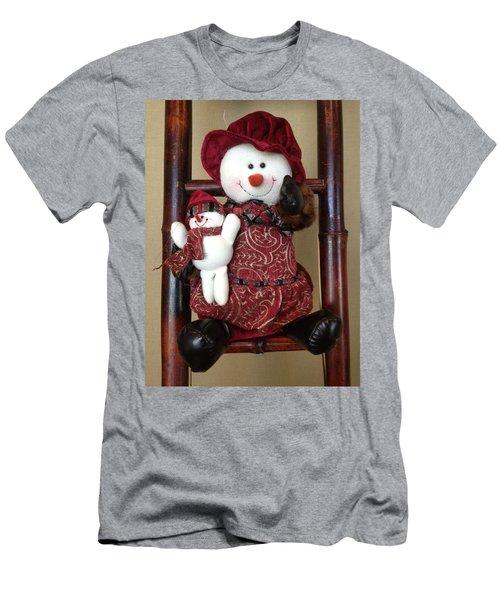 Seasons Greetings Men's T-Shirt (Slim Fit) by Pema Hou
