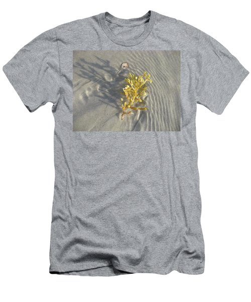 Seaweed Sand Men's T-Shirt (Slim Fit) by Ellen Meakin