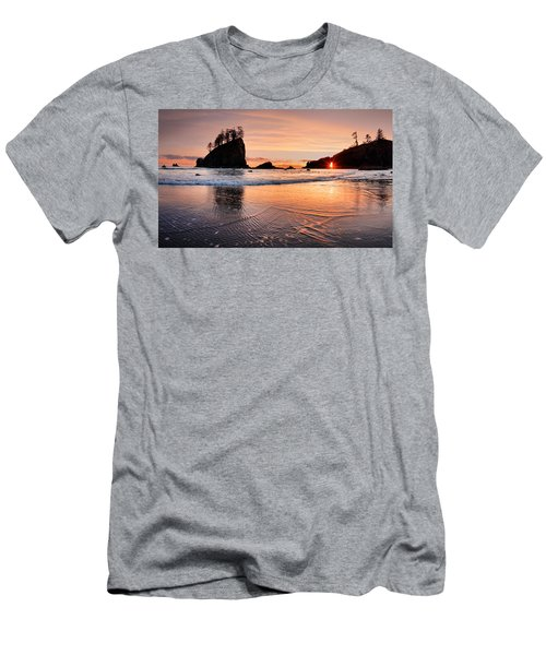 Second Beach Sunset Men's T-Shirt (Athletic Fit)