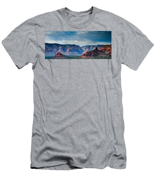 Sedona Arizona Panorama Men's T-Shirt (Athletic Fit)