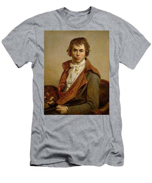 Self Portrait, 1794 Oil On Canvas Men's T-Shirt (Athletic Fit)
