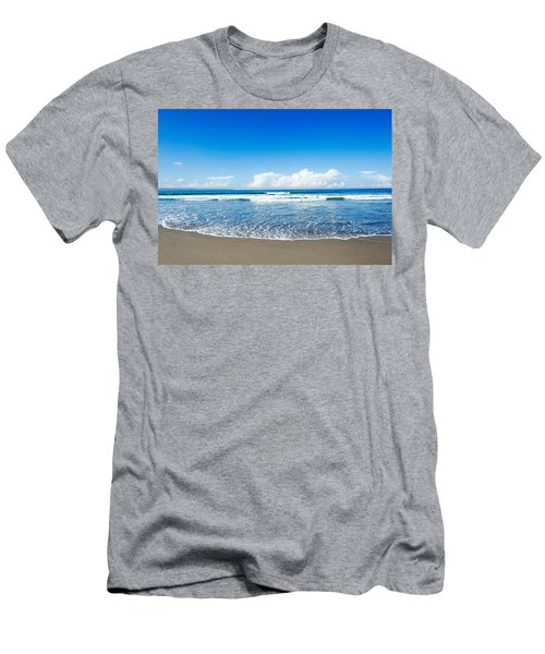 Men's T-Shirt (Slim Fit) featuring the photograph Seminyak Beach by Yew Kwang