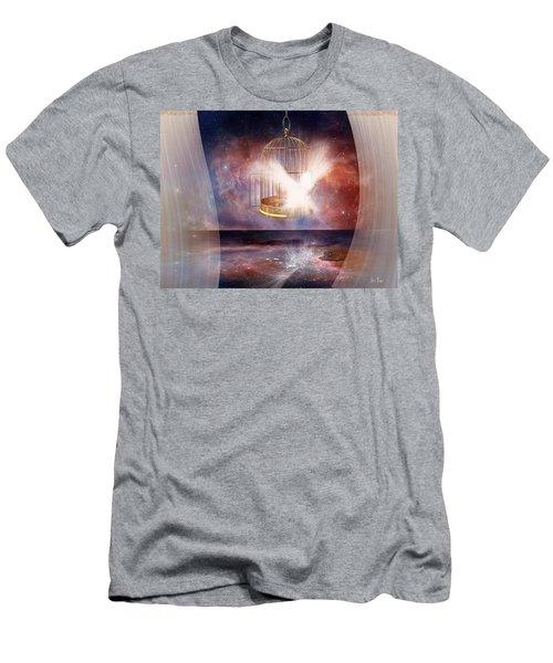 Set Free Men's T-Shirt (Athletic Fit)
