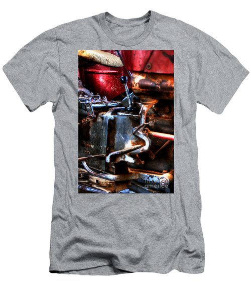 Sexy Curves-the Smell Of Grease-oh Happy Dayz Men's T-Shirt (Athletic Fit)