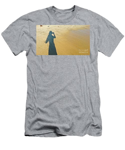 Shadow And Sand Raw Men's T-Shirt (Athletic Fit)