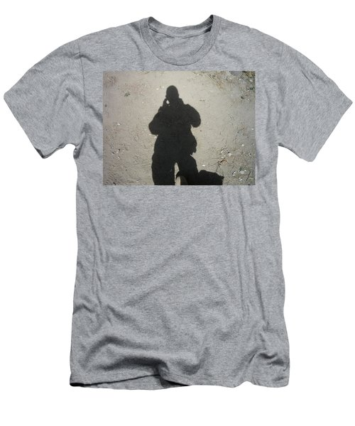 Shadow In Afghanistan  Men's T-Shirt (Athletic Fit)