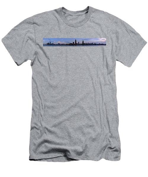 Shanghai Bund Panorama - Dusk Men's T-Shirt (Athletic Fit)