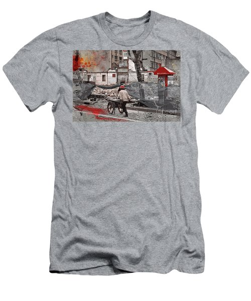 Shanghai Street Creation Men's T-Shirt (Athletic Fit)