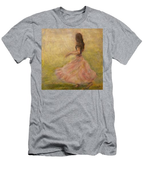 She Dances With The Rain Men's T-Shirt (Athletic Fit)