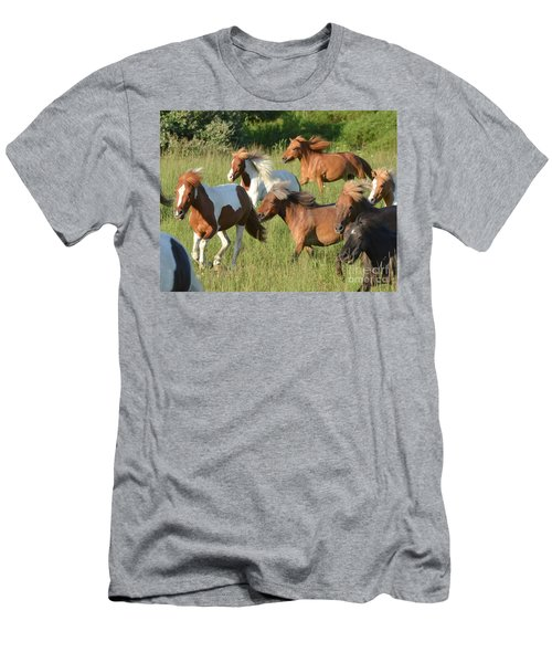 She Has Carrots Men's T-Shirt (Athletic Fit)