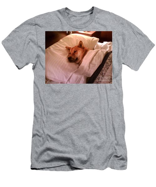 Shiba Inu Kobi-1 Men's T-Shirt (Athletic Fit)