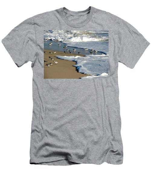 Shore Birds South Florida Men's T-Shirt (Athletic Fit)