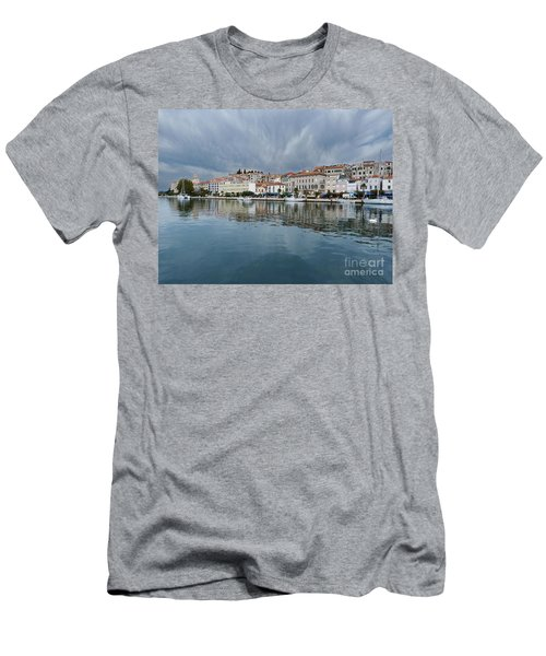 Sibenik Waterfront - Croatia Men's T-Shirt (Athletic Fit)