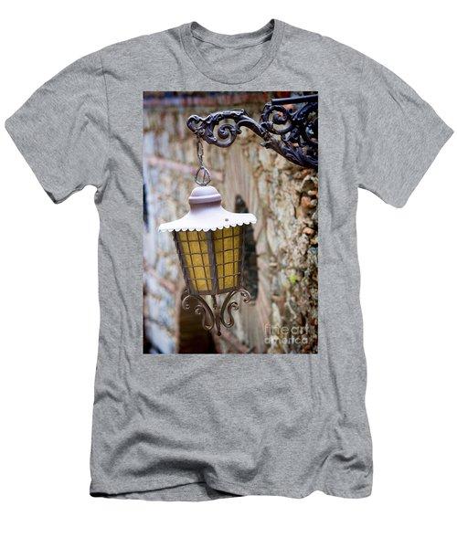 Sicilian Village Lamp Men's T-Shirt (Athletic Fit)