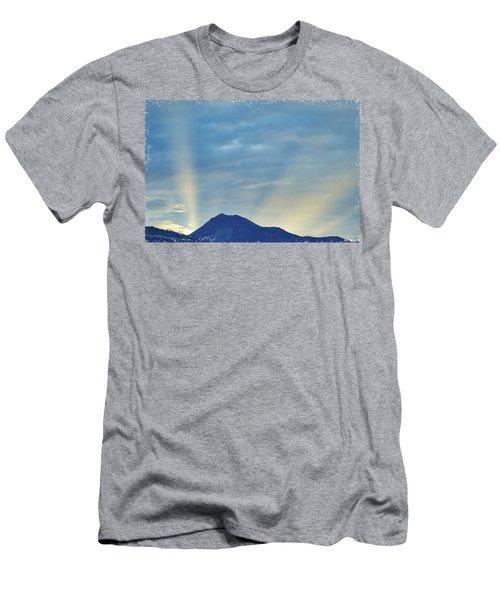 Sierra Sunset Men's T-Shirt (Slim Fit)