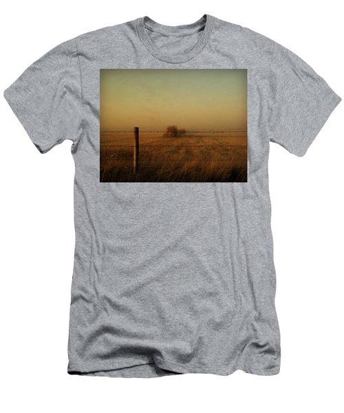 Silence Of Dusk Men's T-Shirt (Slim Fit) by Leanna Lomanski
