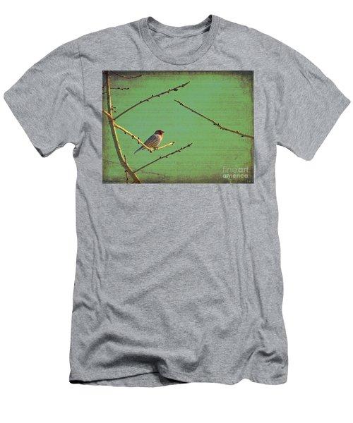 Silent Song Men's T-Shirt (Slim Fit) by Meghan at FireBonnet Art