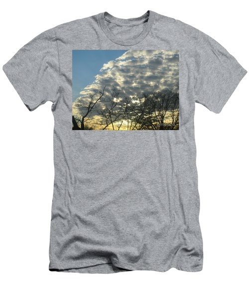 Silver Clouds Men's T-Shirt (Athletic Fit)