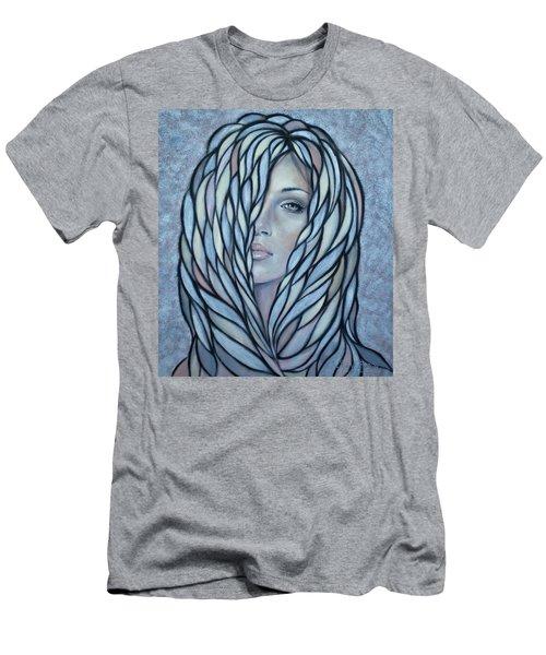 Silver Nymph 021109 Men's T-Shirt (Slim Fit) by Selena Boron