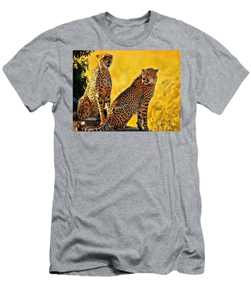 Sister Cheetahs Men's T-Shirt (Athletic Fit)