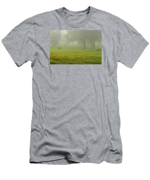 Men's T-Shirt (Slim Fit) featuring the photograph Skc 0835 Romance In The Meadows by Sunil Kapadia