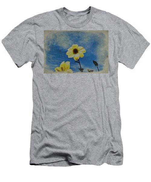 Sky Full Of Sunshine Men's T-Shirt (Athletic Fit)
